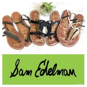 Sam Edelman Gigi / Kira Sandal BUNDLE of 3